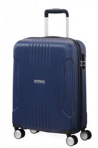 American Tourister Kabinový cestovní kufr Tracklite Spinner 34G 34 l – tmavě modrá