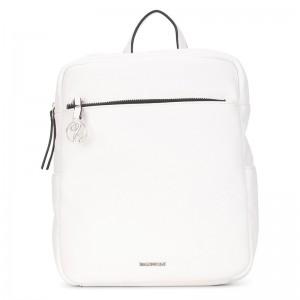Elegantní dámský batoh Emily & Noah Lenie – bílá