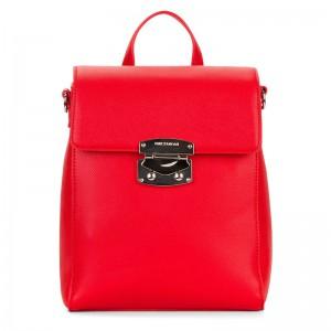 Elegantní dámský batoh Emily & Noah Luca – červená