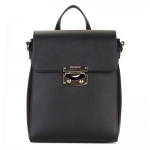 Elegantní dámský batoh Emily & Noah Luca – černá