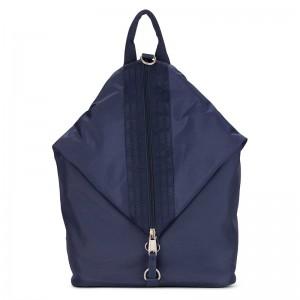 Elegantní dámský batoh Emily & Noah Pina – modrá