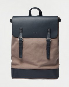 Sandqvist Hege Earth Brown with Navy Leather