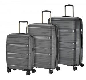 Travelite Sada cestovních kufrů Motion S + M + L Anthracite