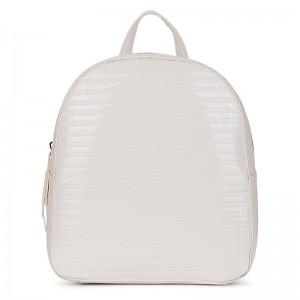 Elegantní dámský batoh Emily & Noah Leslie – bílá