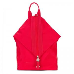 Elegantní dámský batoh Emily & Noah Pina – červená