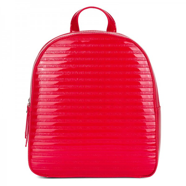 Elegantní dámský batoh Emily & Noah Leslie – červená