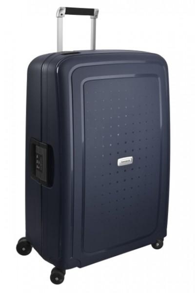 Samsonite Cestovní kufr S'Cure DLX Spinner U44 102 l – modrá