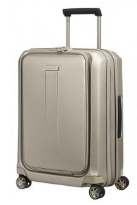Samsonite Kabinový cestovní kufr Prodigy Spinner EXP S 40/47 l – zlatá