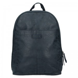 Trendy dámský batoh Enrico Benetti Manola – modrá