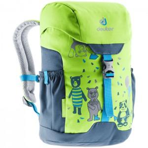 Dětský batoh DEUTER Schmusebär 8l 2020 kiwi/arctic