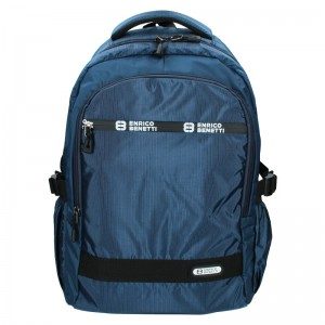 Moderní pánský batoh Enrico Benetti Samme – modrá