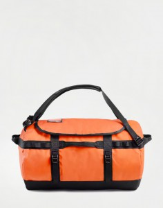 The North Face Base Camp Duffel S Persian Orange/ TNF Black