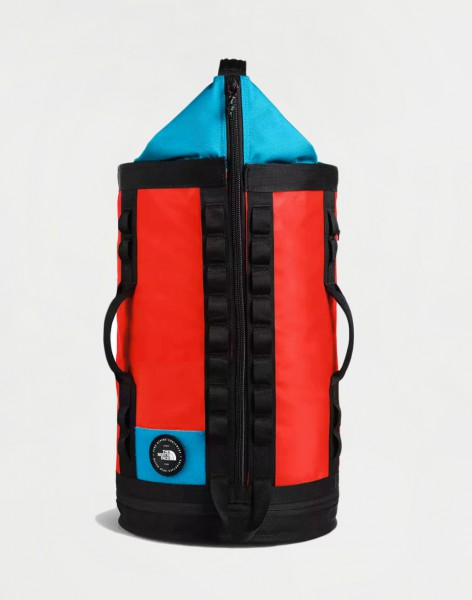 The North Face Explore Haulaback S Fiery Red Extreme Combo