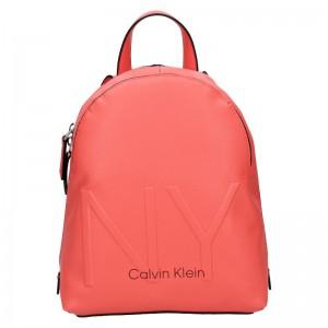 Dámský batoh Calvin Klein Klea – koral