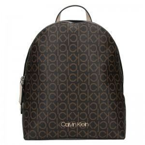Dámský batoh Calvin Klein Lenia – hnědá