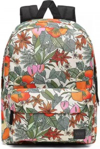 VANS Dámský batoh Vans Deana III Multi Tropic Marshmallow 22 l