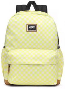 VANS Dámský batoh WM Realm Lemon Tonic Checkerboard 22 l