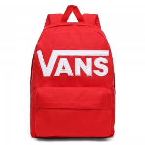 VANS Batoh Old Skool III Racing Red 22 l