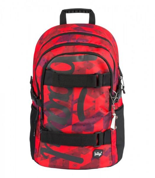 BAAGL Školní batoh Skate Triangle 25 l