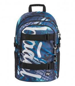 BAAGL Školní batoh Skate Struktury 25 l