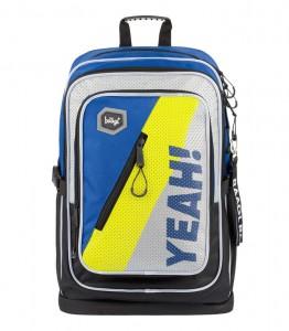 BAAGL Školní batoh Cubic Neon 29 l