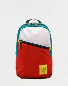 Topo Designs Light Pack White/ Red/ Turquoise