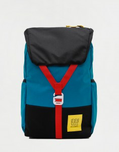 Topo Designs Y-Pack Blue/ Black
