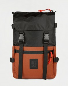 Topo Designs Rover Pack Classic Black/ Clay