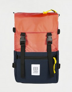 Topo Designs Rover Pack Classic Coral/ Navy