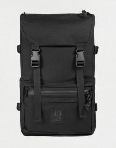 Topo Designs Rover Pack Tech Black/ Black