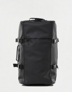 Rains Travel Bag Large 01 Black