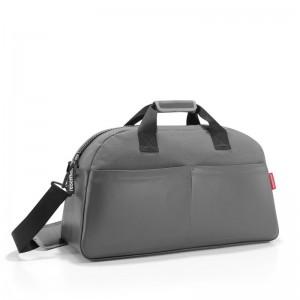 Reisenthel Overnighter Canvas cestovní taška 60 cm 45 l Grey