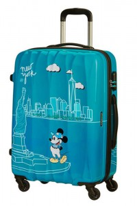 American Tourister Cestovní kufr Disney Legends Spinner 19C 62,5 l – Take Me Away Mickey Nyc
