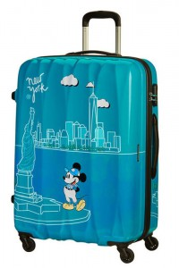 American Tourister Cestovní kufr Disney Legends Spinner 19C 88 l – Take Me Away Mickey Nyc