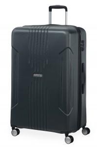 American Tourister Cestovní kufr Tracklite Spinner EXP 34G 105/120 l – stříbrná