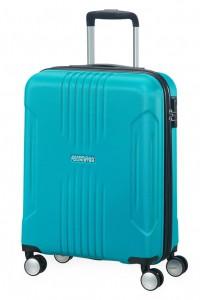 American Tourister Kabinový cestovní kufr Tracklite Spinner 34G 34 l – stříbrná