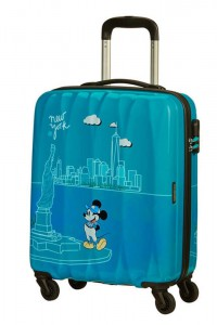 American Tourister Kabinový cestovní kufr Disney Legends Spinner 19C 36 l – Take Me Away Mickey Nyc