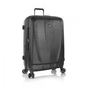 Heys Skořepinový cestovní kufr Vantage Smart Luggage L Black 103 l