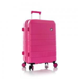 Heys Skořepinový cestovní kufr Neo M Fuchsia 81 l