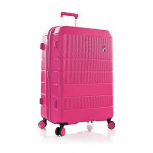 Heys Skořepinový cestovní kufr Neo L Fuchsia 128 l