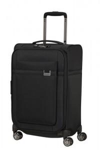 Samsonite Kabinový cestovní kufr Airea 55 cm 38/43,5 l – černá