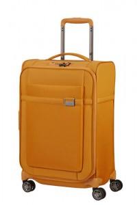 Samsonite Kabinový cestovní kufr Airea 55 cm 38/43,5 l – medově zlatá