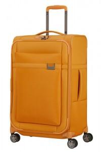 Samsonite Látkový cestovní kufr Airea 67 cm 73,5/81,5 l – medově zlatá