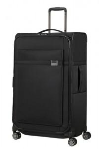Samsonite Látkový cestovní kufr Airea 78 cm 111,5/120 l – černá