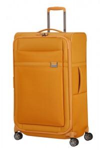Samsonite Látkový cestovní kufr Airea 78 cm 111,5/120 l – medově zlatá