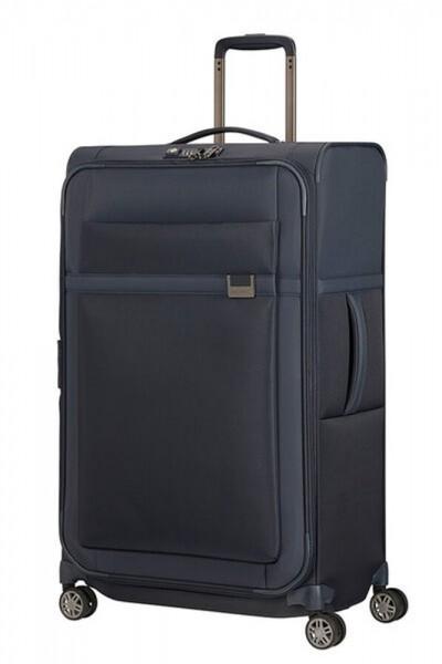 Samsonite Látkový cestovní kufr Airea 78 cm 111,5/120 l – tmavě modrá