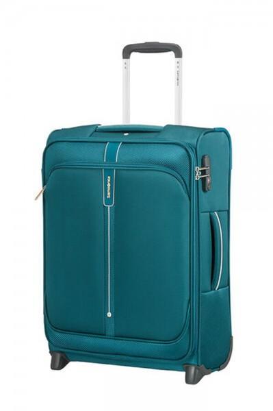 Samsonite Kabinový cestovní kufr Popsoda Upright 55 cm 41 l – tyrkysová