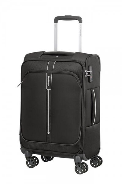 Samsonite Kabinový cestovní kufr Popsoda 55 cm 35 l – černá