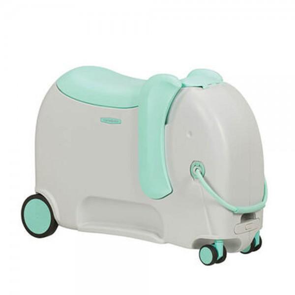 Samsonite Dětský kufr Dream Rider Deluxe Ride-On Spinner Elephant 25 l – světle zelená
