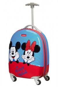 Samsonite Dětský kabinový cestovní kufr Disney Ultimate 2.0 Disney Stripes 20,5 l – modrá